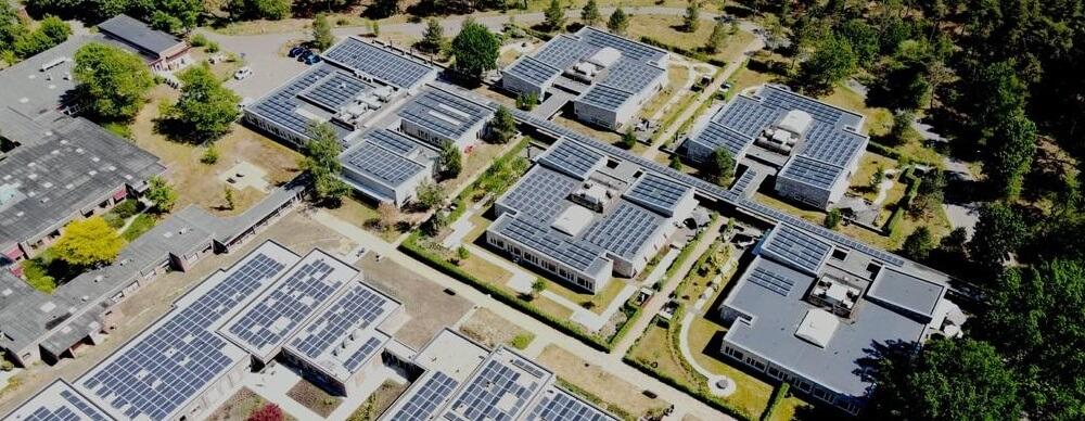 Luchtfoto Zonnepark Sonnevanck