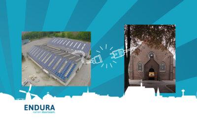 Groene kerk Hierden kiest voor lokale groene stroom